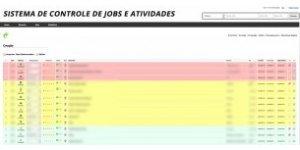 Controle de JOBS, Agências de Criação/Web